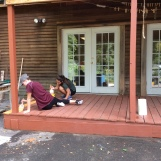 Painting the Porch